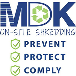 MDK On-Site Shredding Service