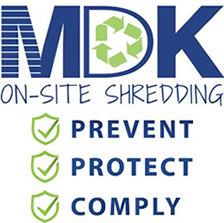 MDK On-Site Shredding
